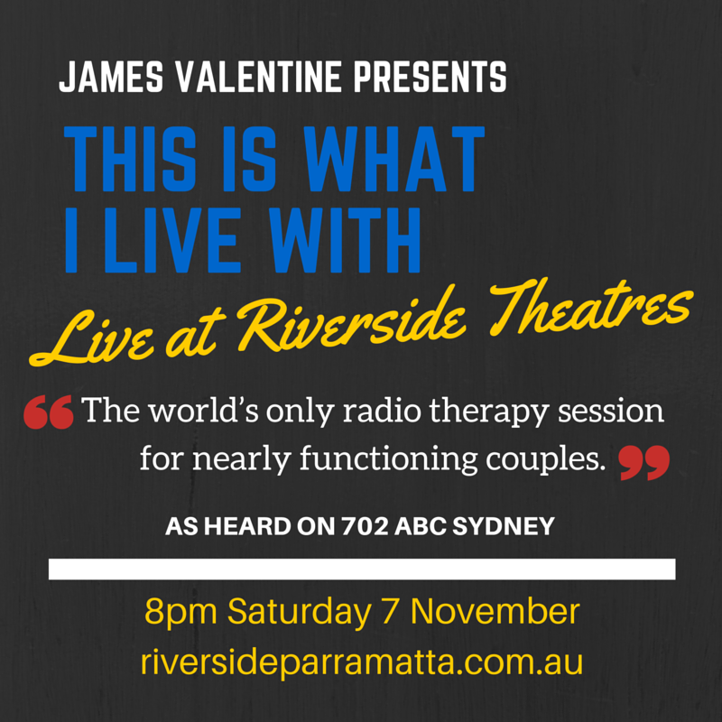 This Is What I Live With - Live at Riverside Theatres in Parramatta